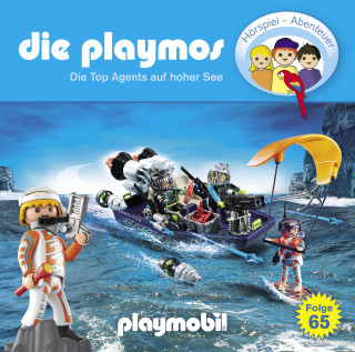 Simon X. Rost, Florian Fickel: Die Playmos, Folge 65: Die Top Agents auf hoher See