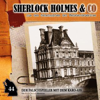 Paul Burghardt: Sherlock Holmes & Co, Folge 44: Der Falschspieler mit dem Karo-Ass