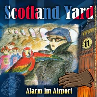 Wolfgang Pauls: Scotland Yard, Folge 11: Alarm im Airport