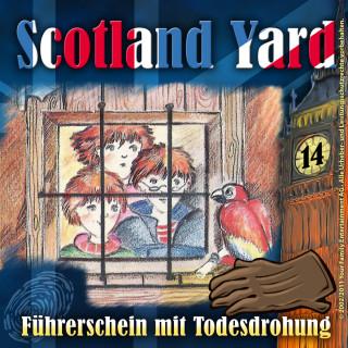 Wolfgang Pauls: Scotland Yard, Folge 14: Führerschein mit Todesdrohung