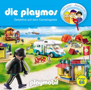David Bredel & Florian Fickel: Die Playmos - Das Original Playmobil Hörspiel, Folge 66: Detektive auf dem Campingplatz