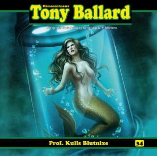A. F. Morland, Thomas Birker: Tony Ballard, Folge 34: Prof. Kulls Blutnixe