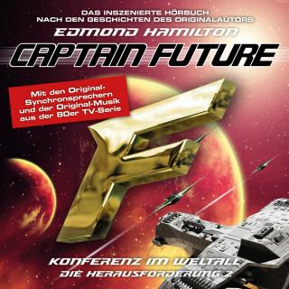 Edmond Hamilton: Captain Future, Die Herausforderung, Folge 2: Konferenz im Weltall