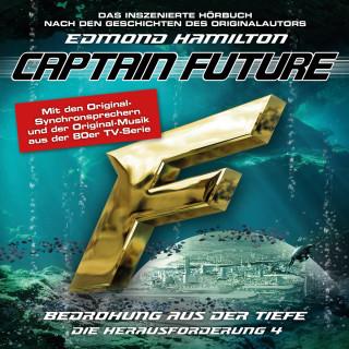 Edmond Hamilton: Captain Future, Die Herausforderung, Folge 4: Bedrohung aus der Tiefe