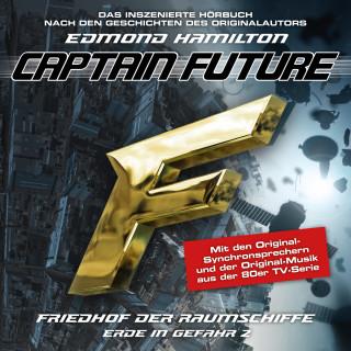 Edmond Hamilton: Captain Future, Erde in Gefahr, Folge 2: Friedhof der Raumschiffe