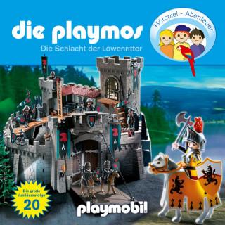 Simon X. Rost, Florian Fickel: Die Playmos - Das Original Playmobil Hörspiel, Folge 20: Die Schlacht der Löwenritter