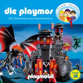 Simon X. Rost, Florian Fickel: Die Playmos - Das Original Playmobil Hörspiel, Folge 38: Das Geheimnis des Drachenfeuers