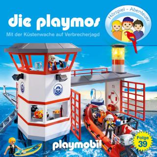 Simon X. Rost, Florian Fickel: Die Playmos - Das Original Playmobil Hörspiel, Folge 39: Mit der Küstenwache auf Verbrecherjagd