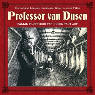 Marc Freund: Professor van Dusen, Die neuen Fälle, Fall 3: Professor van Dusen taut auf