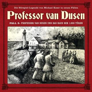 Marc Freund: Professor van Dusen, Die neuen Fälle, Fall 5: Professor van Dusen und das Haus der 1000 Türen
