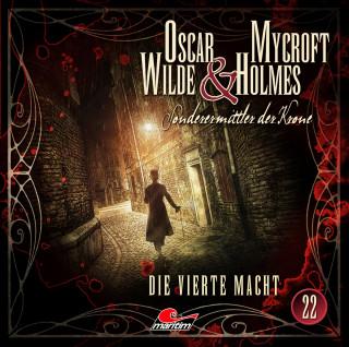 Oscar Wilde, Henner Hildebrandt, Thomas Balfour: Oscar Wilde & Mycroft Holmes, Sonderermittler der Krone, Folge 22: Die vierte Macht