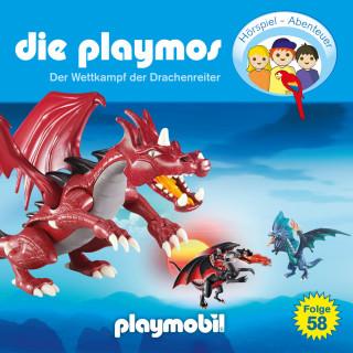 David Bredel, Florian Fickel: Die Playmos - Das Original Playmobil Hörspiel, Folge 58: Wettkampf der Drachenreiter