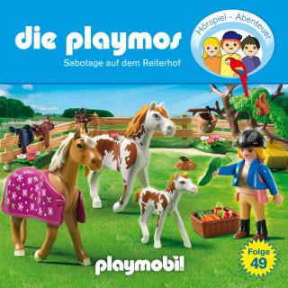 David Bredel, Florian Fickel: Die Playmos - Das Original Playmobil Hörspiel, Folge 49: Sabotage auf dem Reiterhof