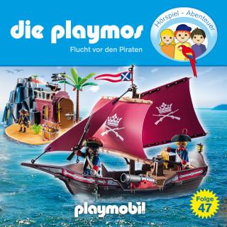 Simon X. Rost, Florian Fickel: Die Playmos - Das Original Playmobil Hörspiel, Folge 47: Flucht vor den Piraten