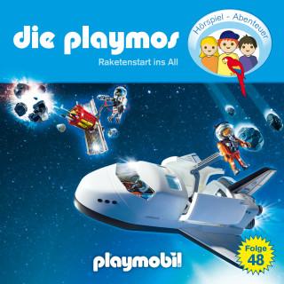 Simon X. Rost, Florian Fickel: Die Playmos - Das Original Playmobil Hörspiel, Folge 48: Raketenstart ins All