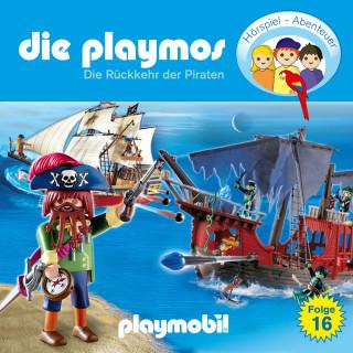 Simon X. Rost, Florian Fickel: Die Playmos - Das Original Playmobil Hörspiel, Folge 16: Die Rückkehr der Piraten