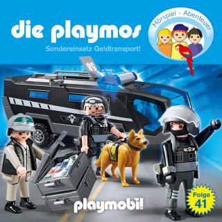 Simon X. Rost, Florian Fickel: Die Playmos - Das Original Playmobil Hörspiel, Folge 41: Sondereinsatz Geldtransport!