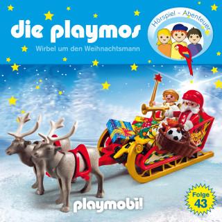 David Bredel, Florian Fickel: Die Playmos - Das Original Playmobil Hörspiel, Folge 43: Wirbel um den Weihnachtsmann