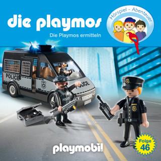 David Bredel, Florian Fickel: Die Playmos - Das Original Playmobil Hörspiel, Folge 46: Die Playmos ermitteln