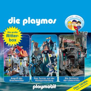 Simon X. Rost, Florian Fickel: Die Playmos - Das Original Playmobil Hörspiel, Die große Ritter-Box, Folgen 2, 8, 20