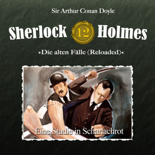 Arthur Conan Doyle: Sherlock Holmes, Die alten Fälle (Reloaded), Fall 12: Eine Studie in Scharlachrot