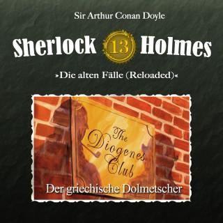 Arthur Conan Doyle: Sherlock Holmes, Die alten Fälle (Reloaded), Fall 13: Der griechische Dolmetscher