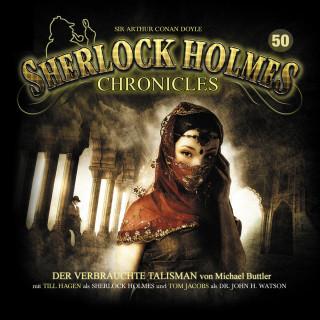 Michael Buttler: Sherlock Holmes Chronicles, Folge 50: Der verbrauchte Talisman