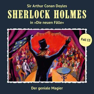 Bodo Traber: Sherlock Holmes, Die neuen Fälle, Fall 13: Der geniale Magier