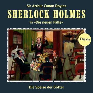 Peter Krüger: Sherlock Holmes, Die neuen Fälle, Fall 40: Die Speise der Götter