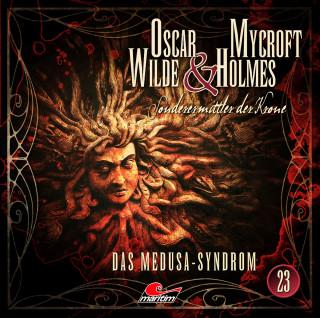 Jonas Maas: Oscar Wilde & Mycroft Holmes, Sonderermittler der Krone, Folge 23: Das Medusa-Syndrom