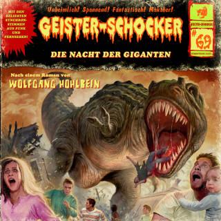 Wolfgang Hohlbein: Geister-Schocker, Folge 69: Die Nacht der Giganten