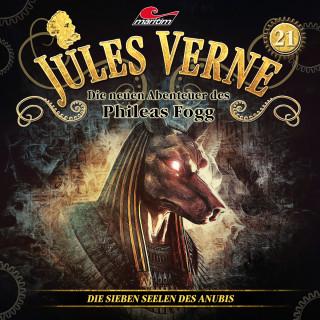 Marc Freund: Jules Verne, Die neuen Abenteuer des Phileas Fogg, Folge 21: Die sieben Seelen des Anubis
