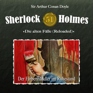 Arthur Conan Doyle, Daniela Wakonigg: Sherlock Holmes, Die alten Fälle (Reloaded), Fall 51: Der Farbenhändler im Ruhestand