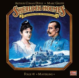 Arthur Conan Doyle, Marc Gruppe: Sherlock Holmes - Die geheimen Fälle des Meisterdetektivs, Folge 41: Mayerling (Teil 1 von 2)