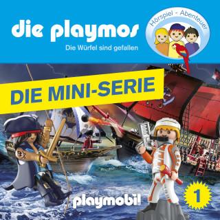 David Bredel, Florian Fickel: Die Playmos, Episode 1: Die Würfel sind gefallen (Das Original Playmobil Hörspiel)