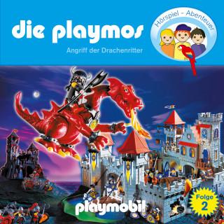 Simon X. Rost, Florian Fickel: Die Playmos - Das Original Playmobil Hörspiel, Folge 2: Angriff der Drachenritter
