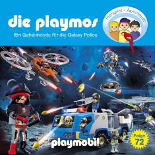 David Bredel, Florian Fickel: Die Playmos, Folge 72: Ein Geheimcode für die Galaxy Police (Das Original Playmobil Hörspiel)