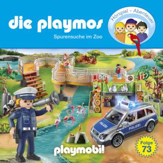 Christoph Dittert, Björn Berenz, Florian Fickel: Die Playmos, Folge 73: Spurensuche im Zoo (Das Original Playmobil Hörspiel)