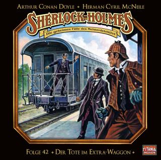 Arthur Conan Doyle: Sherlock Holmes - Die geheimen Fälle des Meisterdetektivs, Folge 42: Der Tote im Extra-Waggon