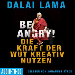 Dalai Lama: Be Angry - Die Kraft der Wut kreativ nutzen (Ungekürzt)