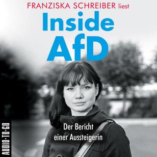 Franziska Schreiber: Inside AfD (Ungekürzt)
