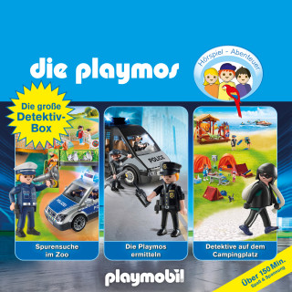 David Bredel, Florian Fickel: Die große Detektiv-Box - Das Original Playmobil Hörspiel, Folgen 46, 66, 73