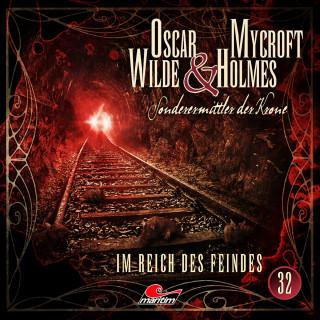 Marc Freund: Oscar Wilde & Mycroft Holmes, Sonderermittler der Krone, Folge 32: Im Reich des Feindes