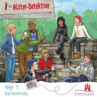 Katrin Wiegand, Kai Schwind: Die Alster-Detektive, Folge 7: Kartentricks (Ungekürzt)