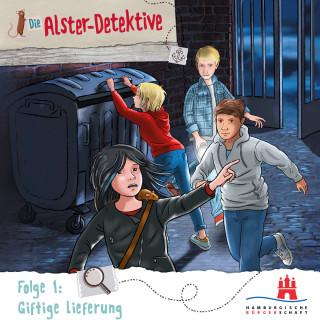 Katrin Wiegand, Kai Schwind: Die Alster-Detektive, Folge 1: Giftige Lieferung (Ungekürzt)