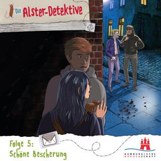 Katrin Wiegand, Kai Schwind: Die Alster-Detektive, Folge 5: Schöne Bescherung (Ungekürzt)